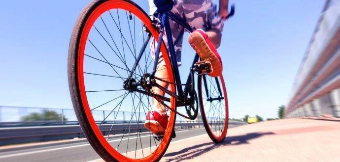 Najčastejšie chyby pri jazde na bicykli