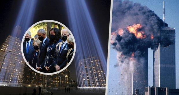 20 let od teroru 11. září: Biden i exprezidenti uctili téměř 3000 obětí na Ground Zero