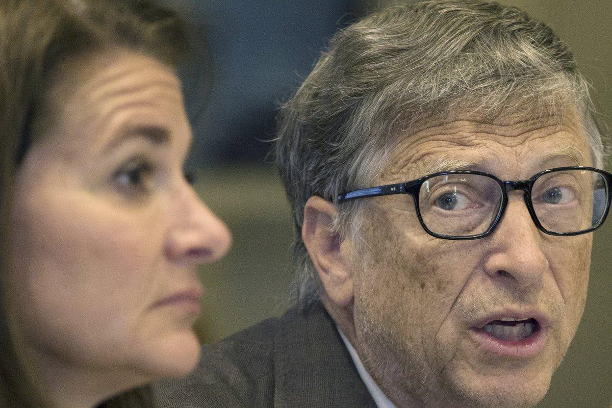 Bill Gates se svou ženou Melindou