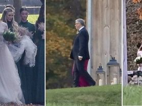 Bill Gates vede dceru k oltáři! I s exmanželkou!
