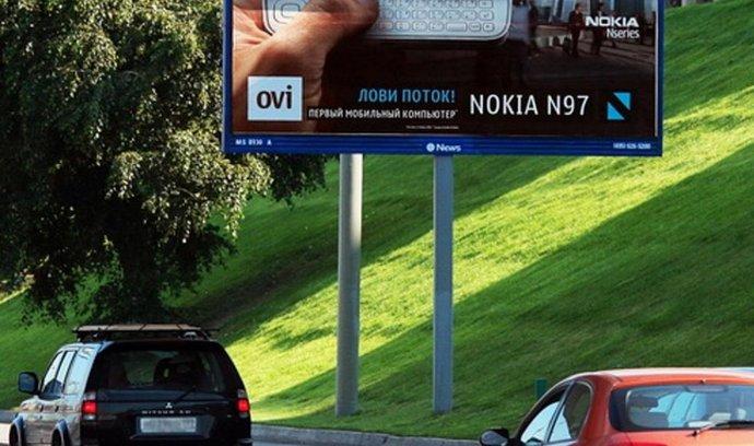 Billboard společnosti News Outdoor