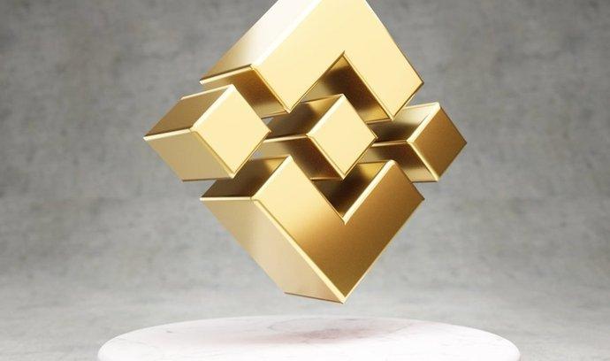 Logo kryptoměnové burzy Binance