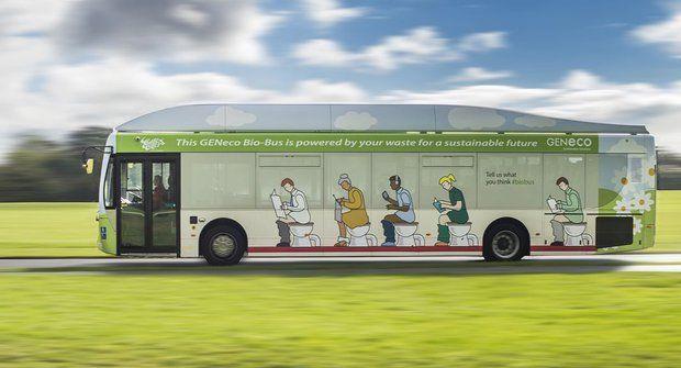 Britský Bio Bus jezdí na lidské výkaly