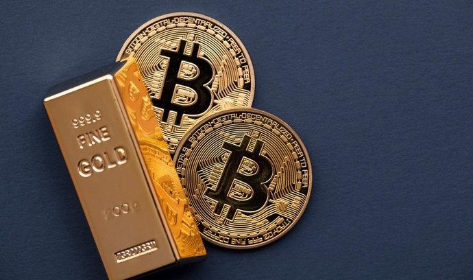 Kurzy bitcoinu a zlata by měly tepat v podobném rytmu. Teoreticky.