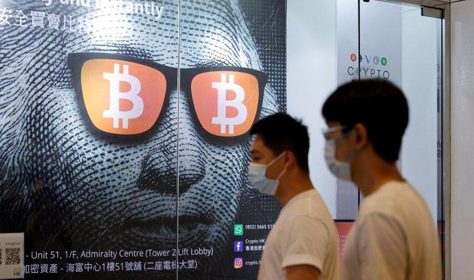 Čína vytáhla do boje proti bitcoinu. Kryptoměnu to ale zjevně srazilo jen dočasně