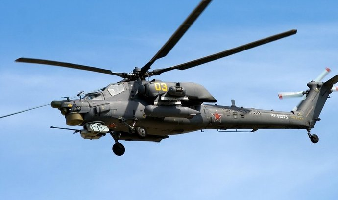 bitevní vrtulník Mi-28