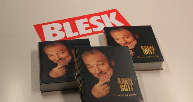 Soutěž Blesku o autobiografii Karla Gotta.