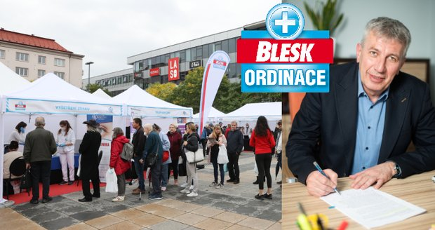 Blesk Surgery under the baton of the University Hospital Ostrava: The examination is better under the open sky, says the director