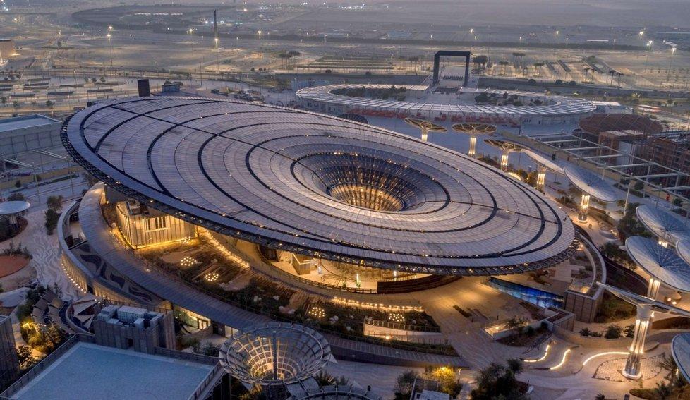 Takto vypadal český pavilon na EXPU 2020 v lednu 2021.