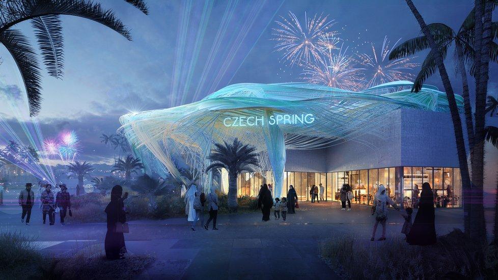 Takto by měl český pavilon v Dubaji vypadat.