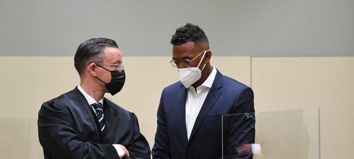 Boateng ve čtvrtek předstoupil před soud