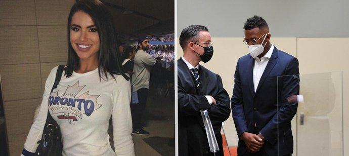 Boateng a jeho bývalá snoubenka vypovídali před soudem