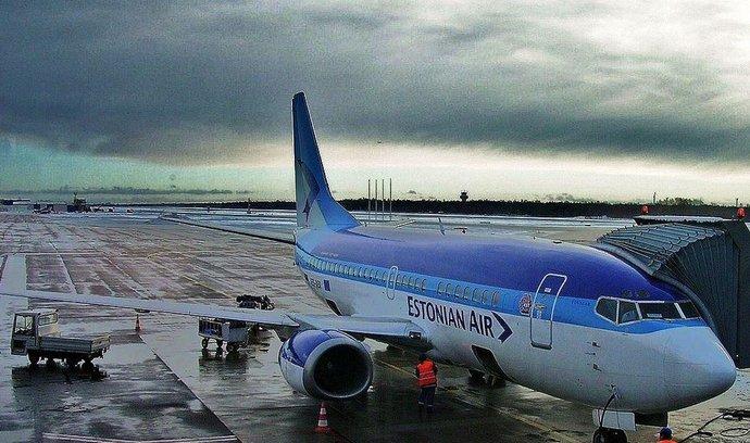 Boeing 737 aerolinek Estonian Air