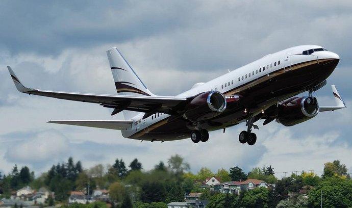 Boeing 737 BBJ (ilustrační foto)