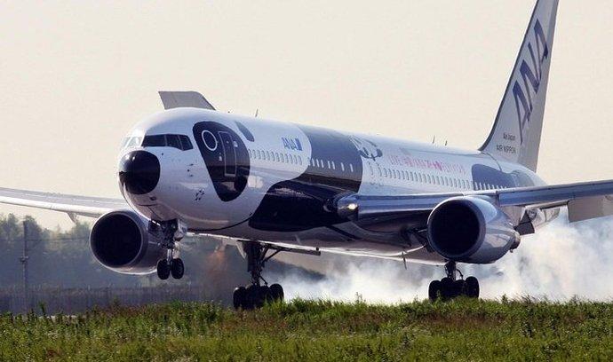 Boeing 767 společnosti ANA