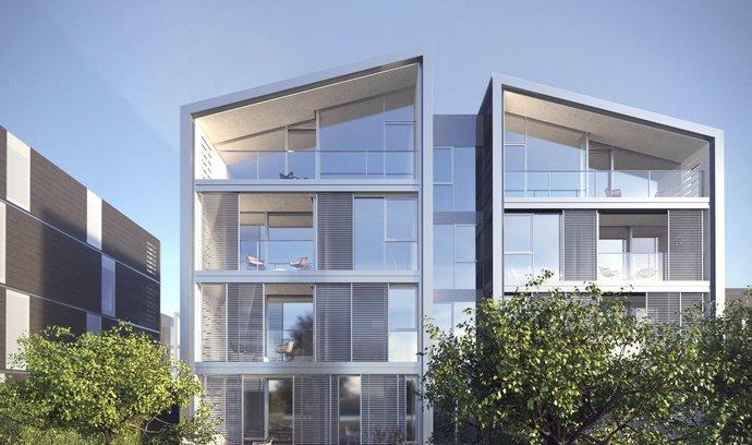 Luxusní projekt Vila Vokovice, který pro developera Daramis Group navrhlo studio Bogle Architects.