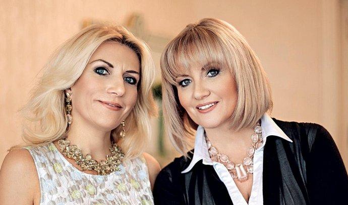 Bohdana Ferrari a Magda Kinská