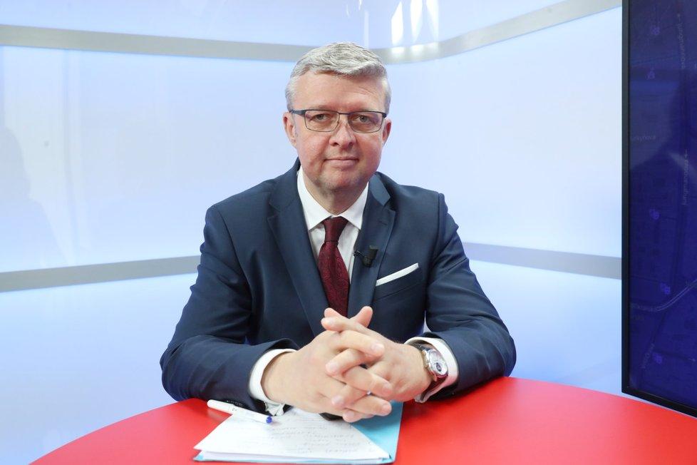 Ministr Karel Havlíček se v Epicentru vyjádřil ke krachu společnosti Bohemia Energy