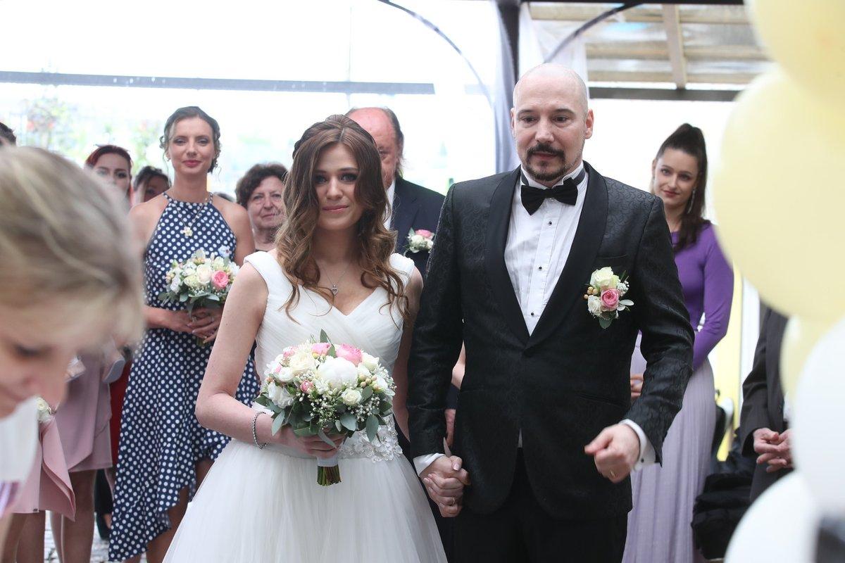 Svatba Bohuše Matuše a Lucinky Palkaninové