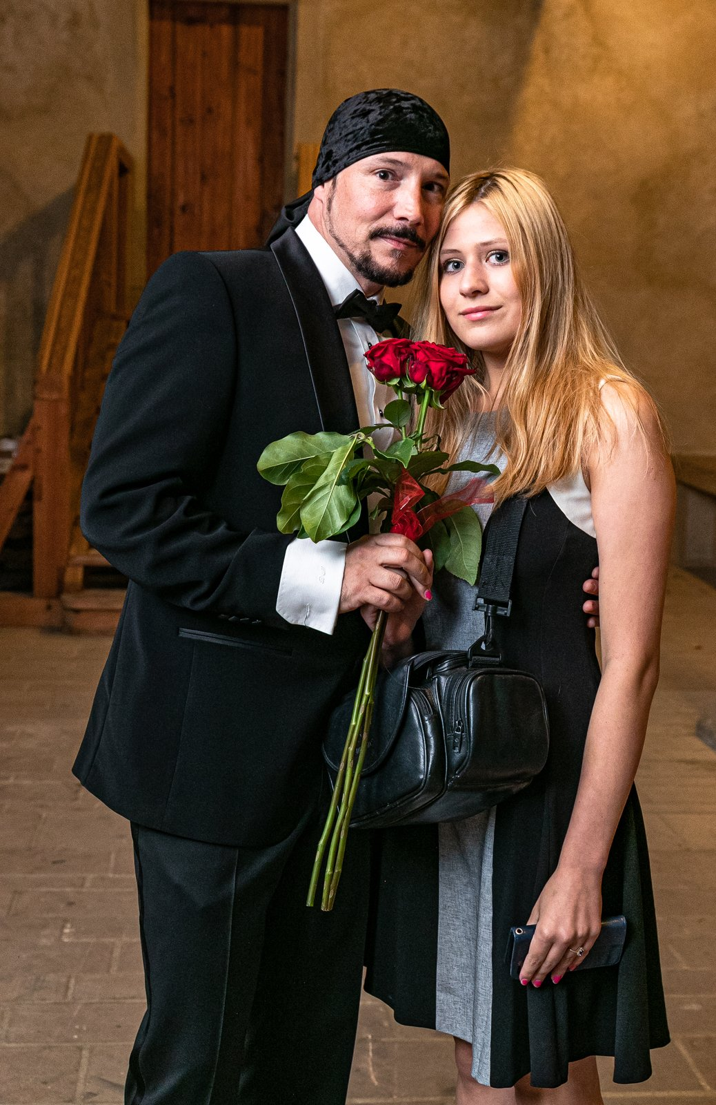 Bohuš Matuš a jeho partnerka Lucie