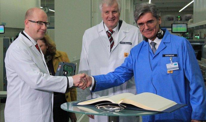 Bohuslav Sobotka na návštěvě v Bavorsku