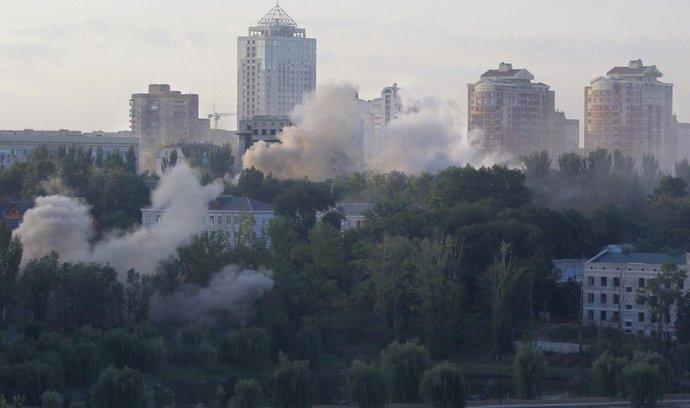 Boje o Luhansk