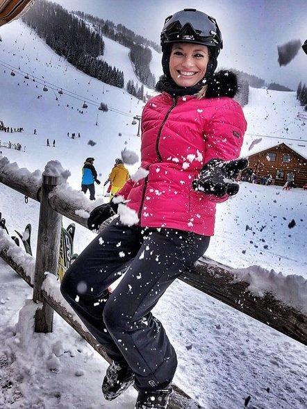Lucie Borhyová na horách