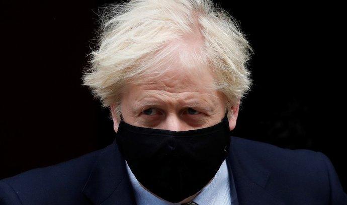 Britský přemiér Boris Johnson