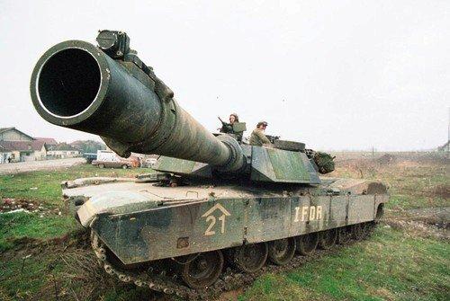 Americká hlídka v Bosně roku 1995