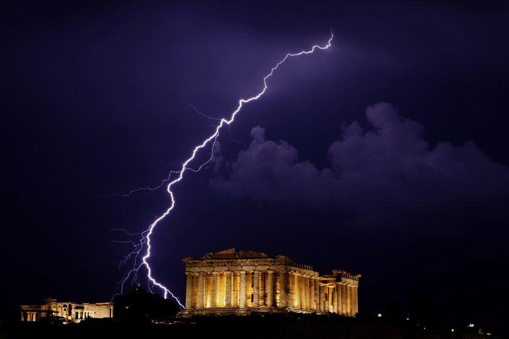 Parthenón na athénské Akropoli