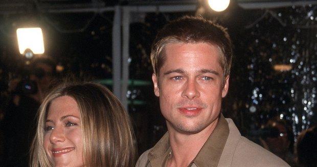 Brad Pitt a Jennifer Anistonová