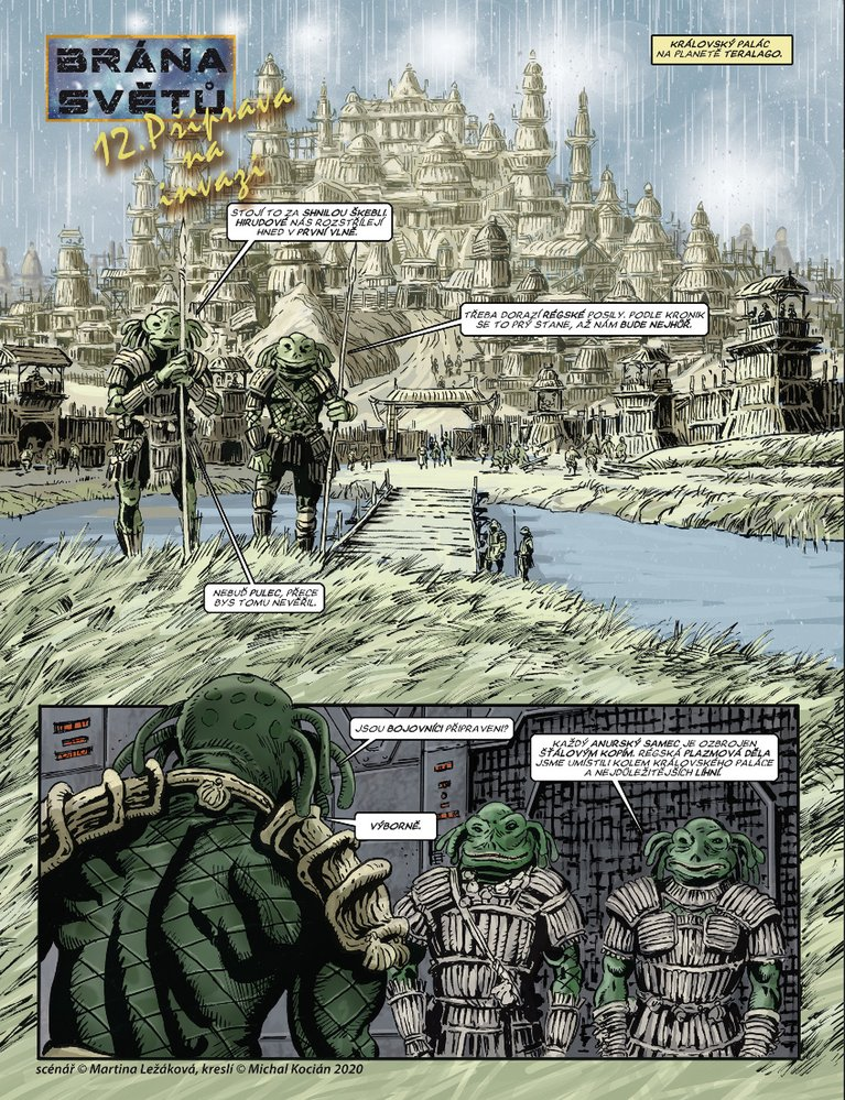 Brána světů 12: Příprava na invazi