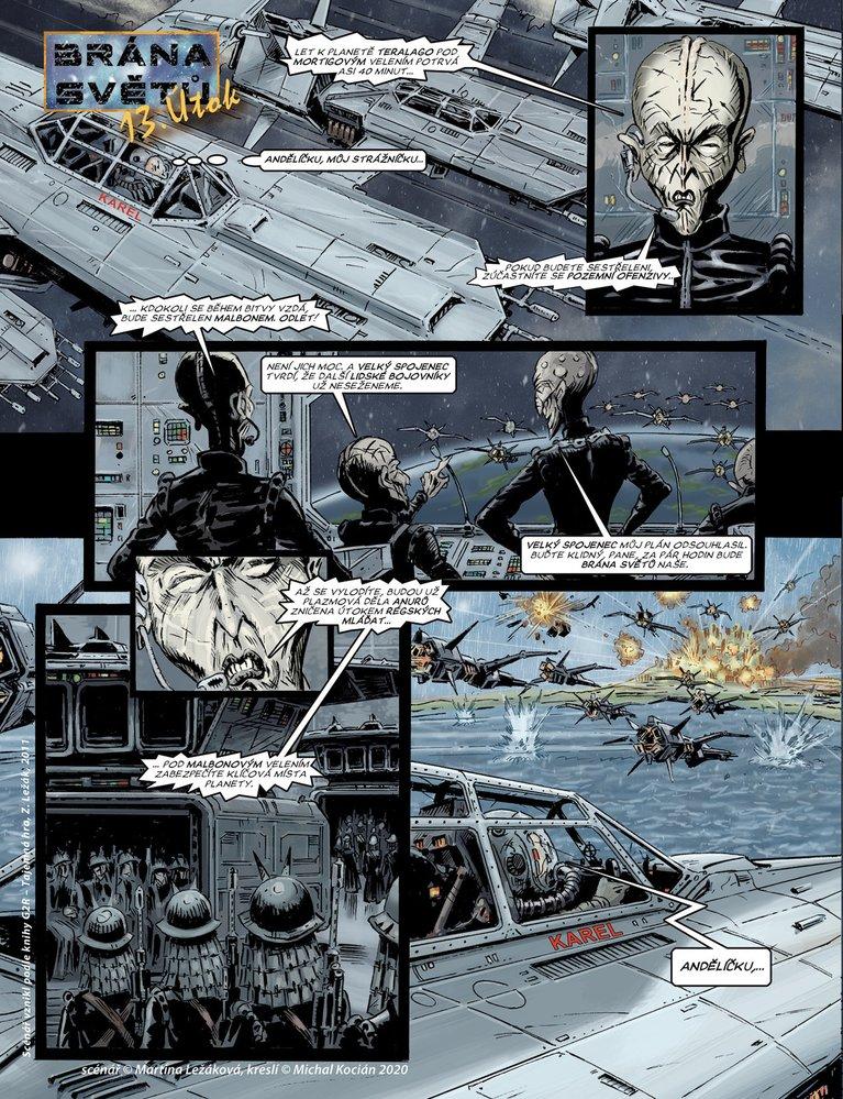 Brána světů 13: Útok