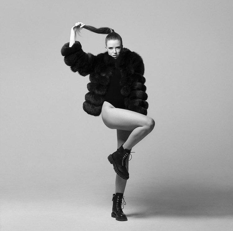 Jágrova Dominika se vrací do modelingu