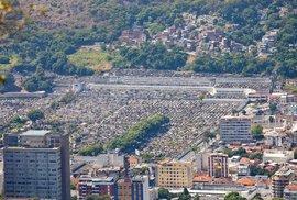 Součástí brazilského Ria de Janeira je i největší hřbitov v celé Jižní Americe