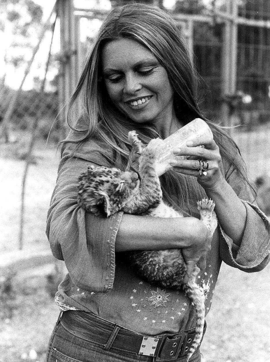 Herečka zasvětila svůj život péči o zvířata.