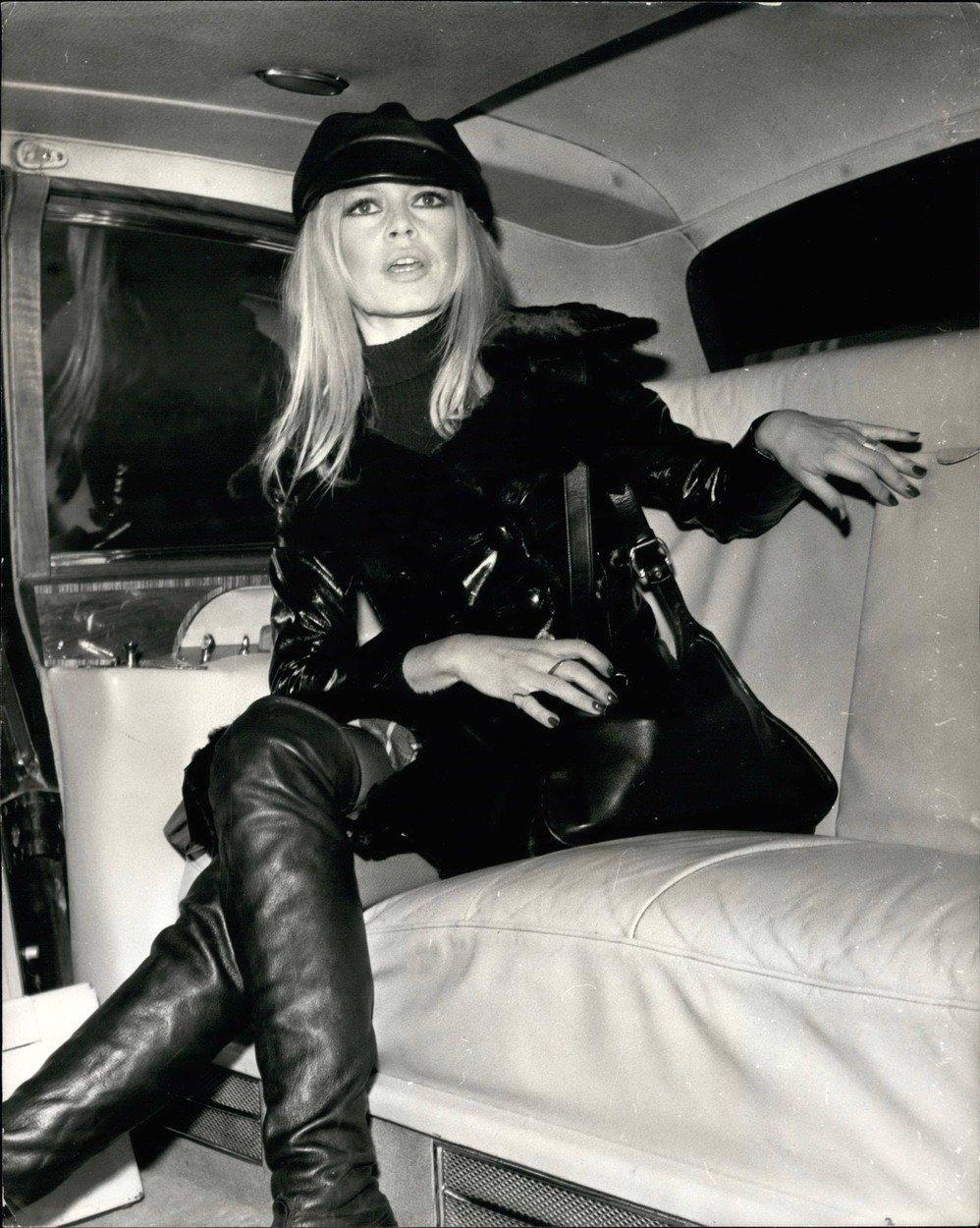 Brigitte Bardot v roce 1968