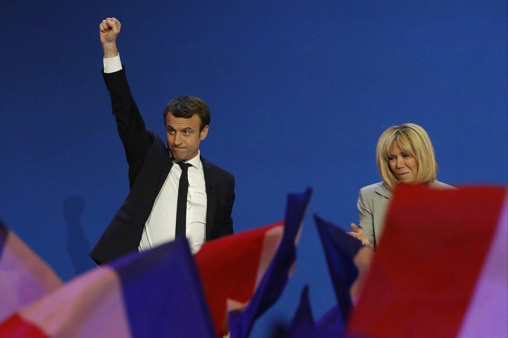 Vítězství Emmanuela Macrona