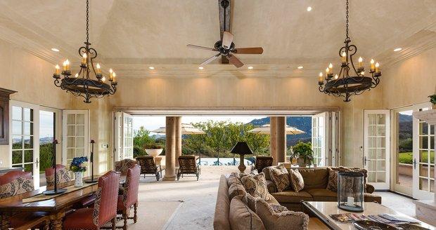 Britney Spearsová má nádherný dům.