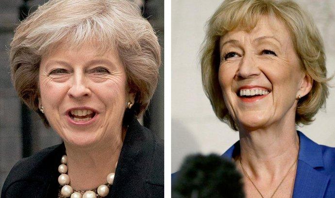 Britské političky Theresa Mayová a Andrea Leadsomová