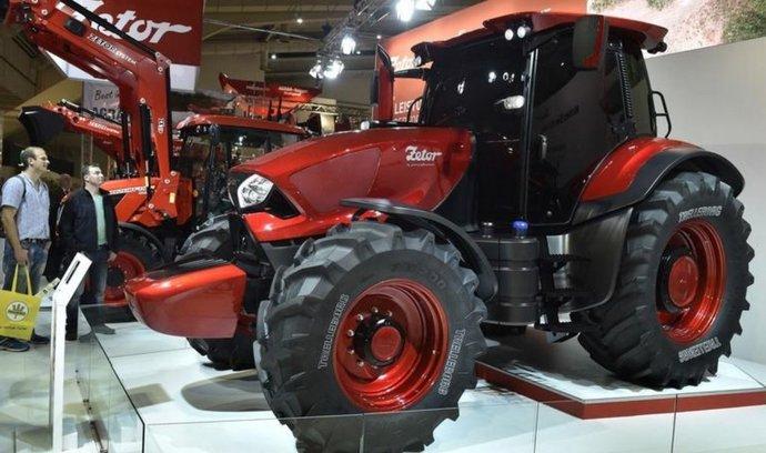 Brněnský výrobce traktorů Zetor tractors představil na veletrhu v německém Hannoveru svou designovou budoucnost, kterou navrhla slavná italská karosářská společnost Pininfarina