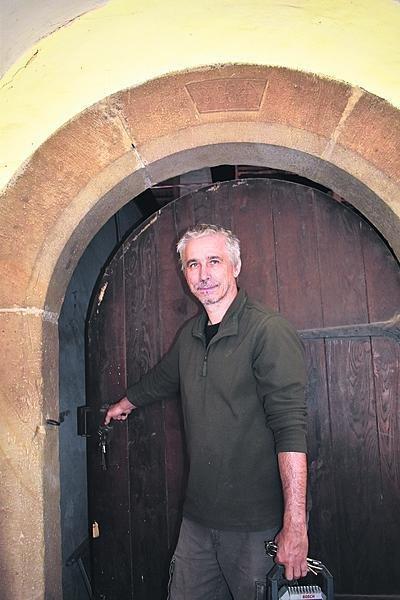 Stavební inženýr Rosťa Jošek je kastelánem na Buchlově již od roku 2007.