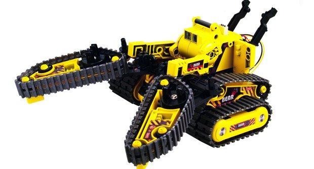 Roboti od Buddy Toys: Stavebnice pro náročné konstruktéry