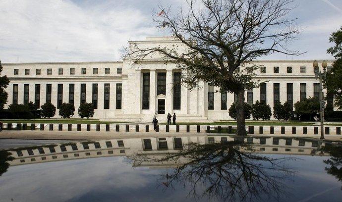 Budova americké centrální banky Fed ve Washingtonu
