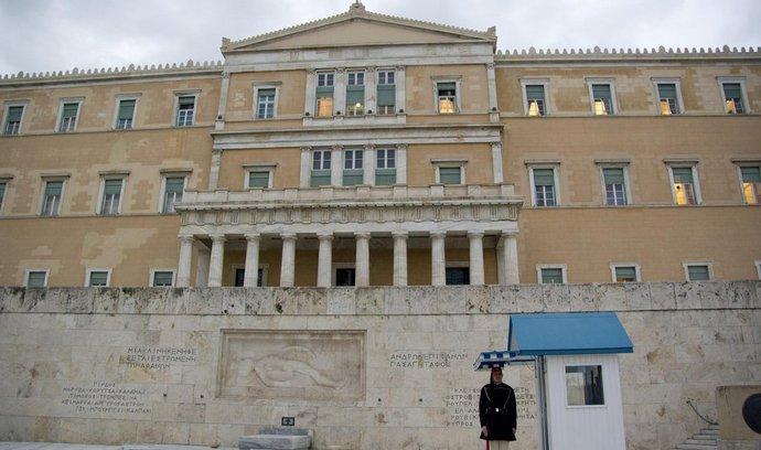 Budova řeckého parlamentu v Aténách