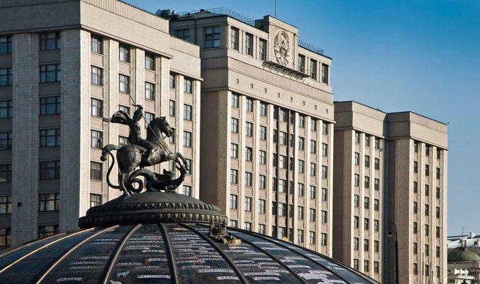 Budova ruského parlamentu