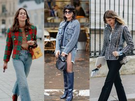 Buklé a zlaté knoflíky: Vrací se sako, které je základem pařížské elegance