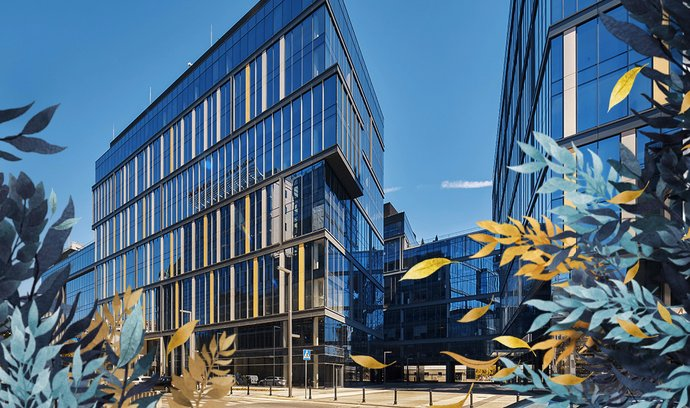V portfoliu ČS nemovitostního fondu je i patnáctipatrová administrativní budova Proximo I, kterou najdete v centru Varšavy.