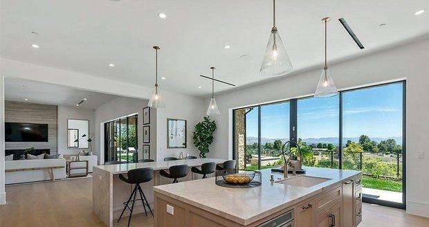 Nový dům herce Willa Smitha na předměstí Los Angeles.