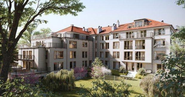 Na Vinohradech je k prodeji luxusní byt za 118 milionů korun.